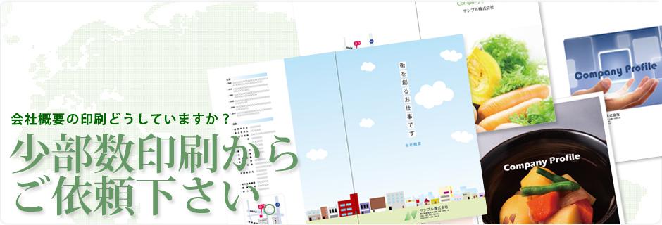会社案内を格安で印刷(香川県高松市)